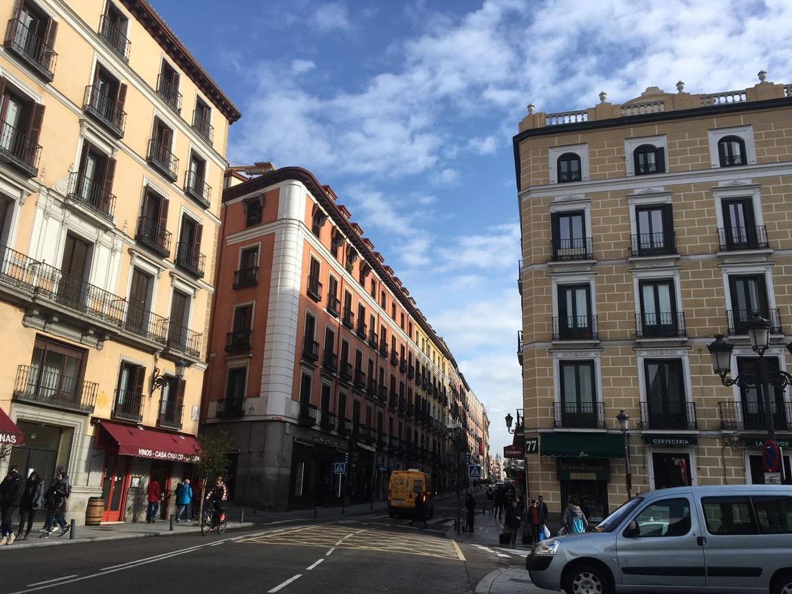 スペイン・マドリードの町並み1の写真