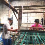 グアテマラ・伝統の織物に挑戦の写真