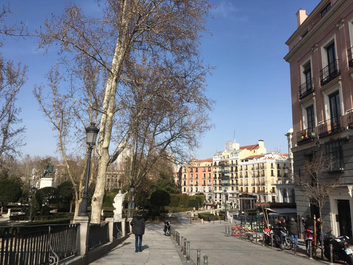 スペイン・マドリードの町並み2の写真