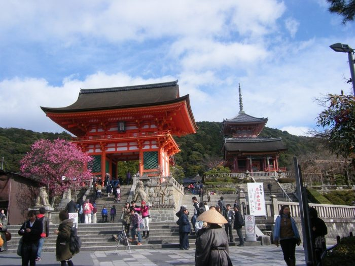 京都・清水寺入口の写真