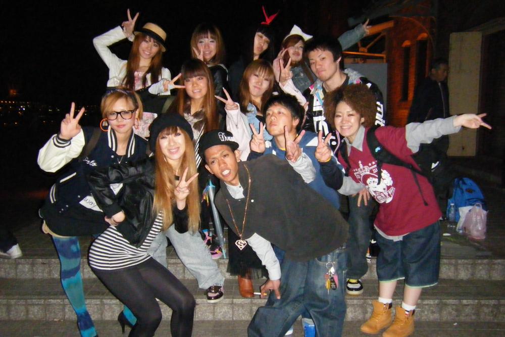 横浜のダンスイベント出演メンバーNON☆KEMA MIX(赤レンガ)の写真