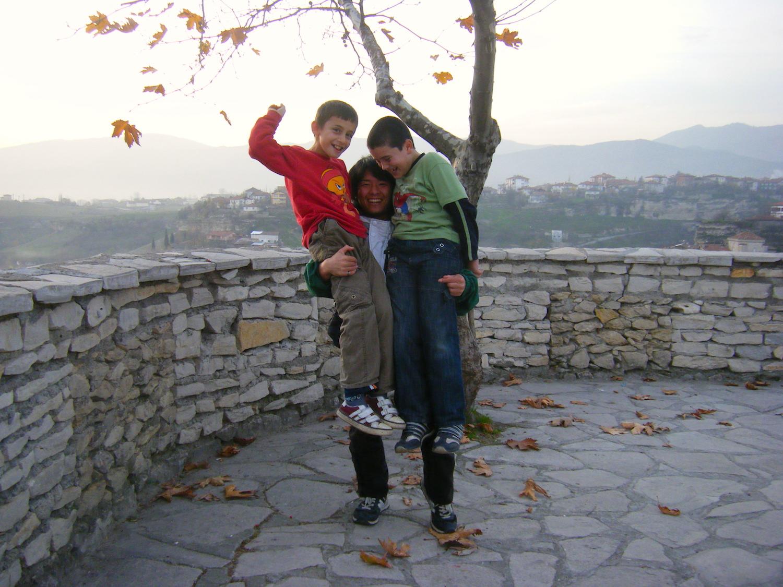 トルコの子供達の写真