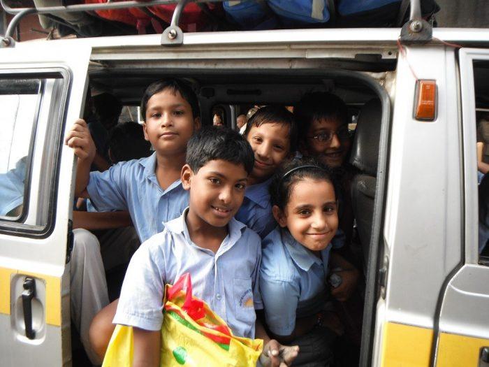 インドの子供達の写真