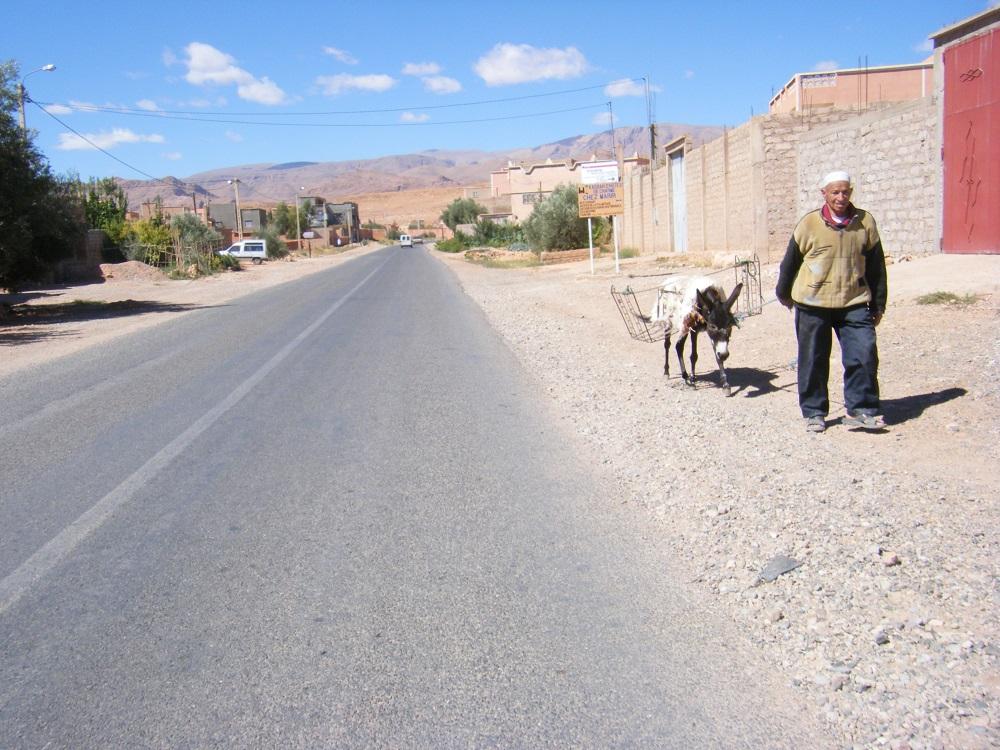 モロッコ・ティネリール周辺の写真