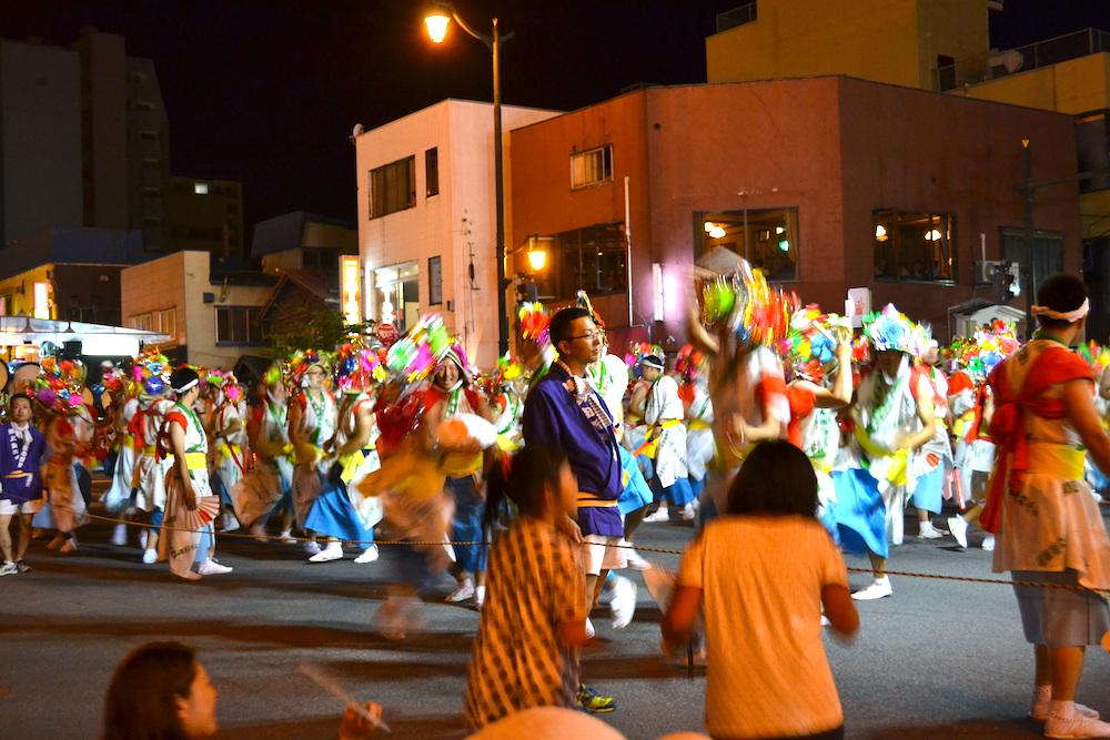 青森県ねぶた祭(ハネト)の写真