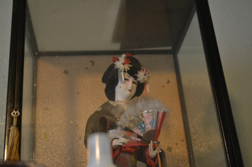 マージさんの家の日本人形の写真