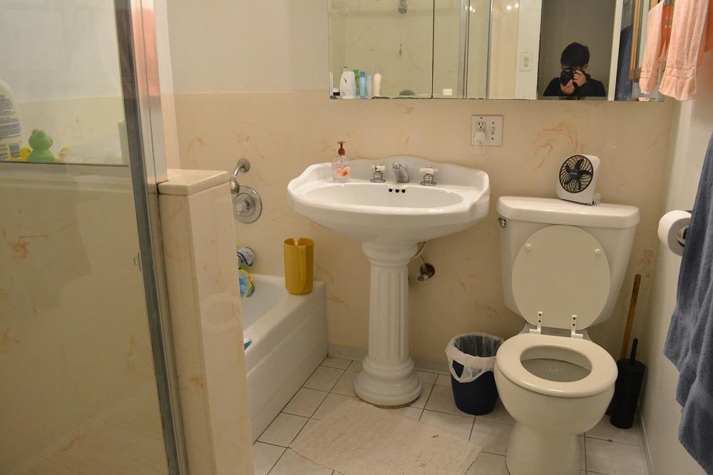 マージさんの家のバスルームの写真