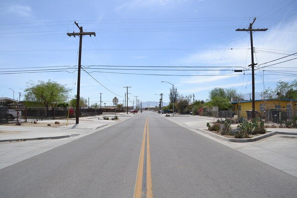アメリカの砂漠の町2の写真