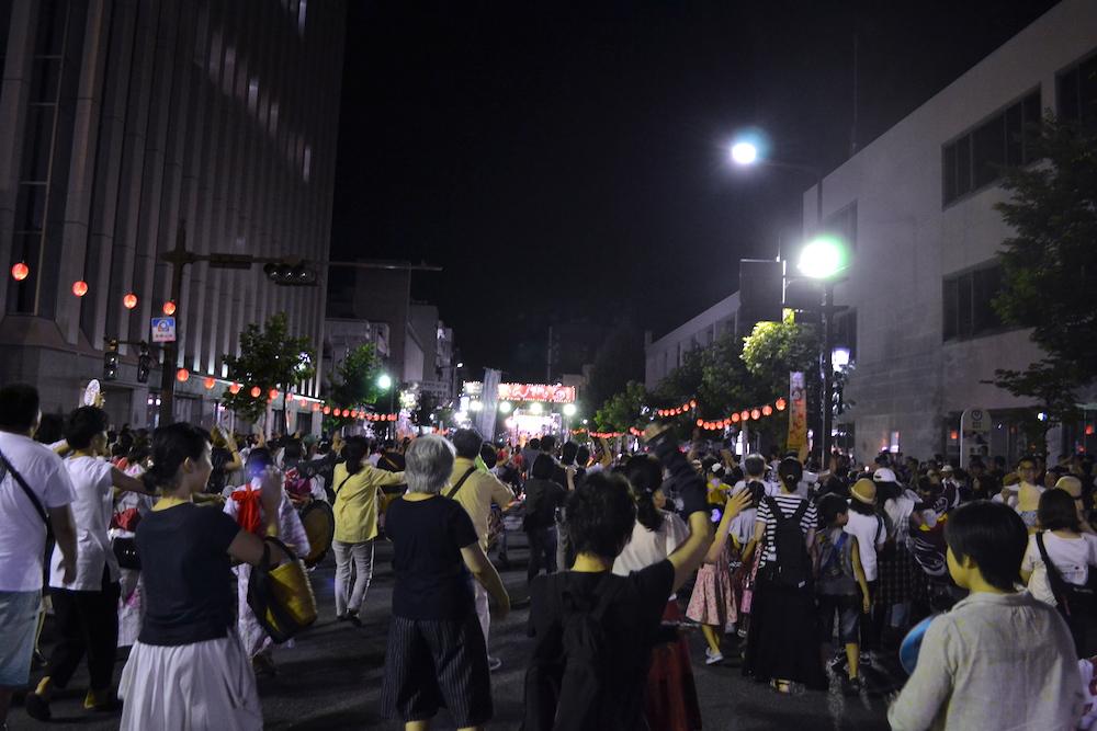 岩手|盛岡さんさ踊りパレード(青年会議所・一般自由参加)の写真