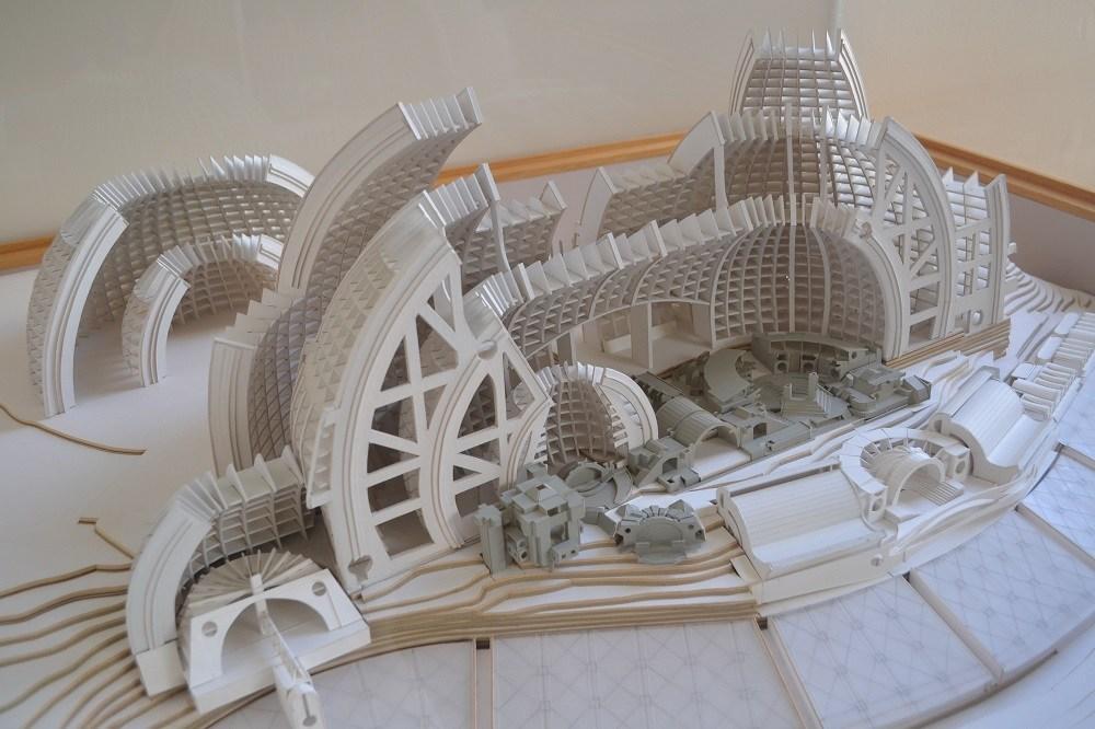 アーコサンティの完成モデルの写真