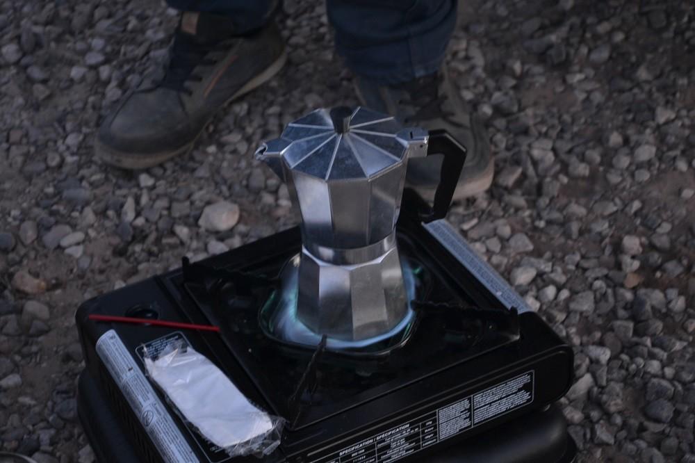 セドナで飲んだコーヒーの写真