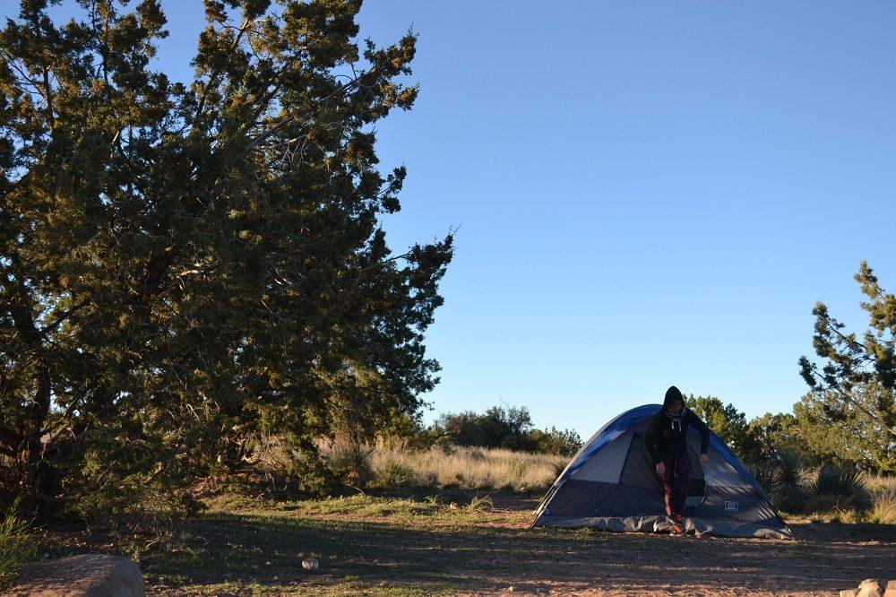 グランドキャニオン周辺は「辺り一面がキャンプ場」だそうです(笑)