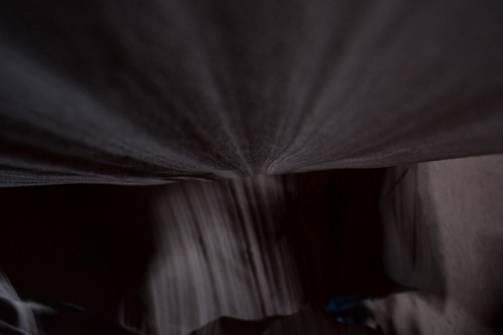 アンテロープの滑らかな表面ズームの写真