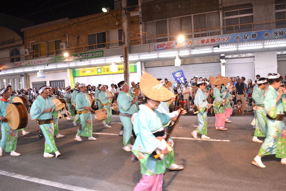 徳島県鳴門阿波おどり(鳴り物)の写真