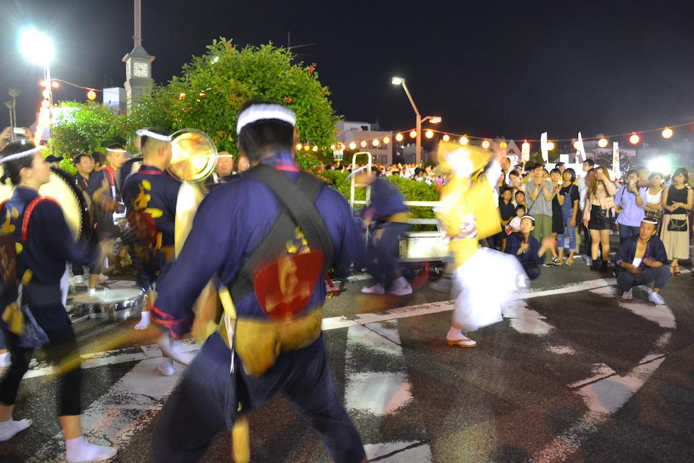 徳島阿波おどりの輪踊り(女性ソロ)の写真