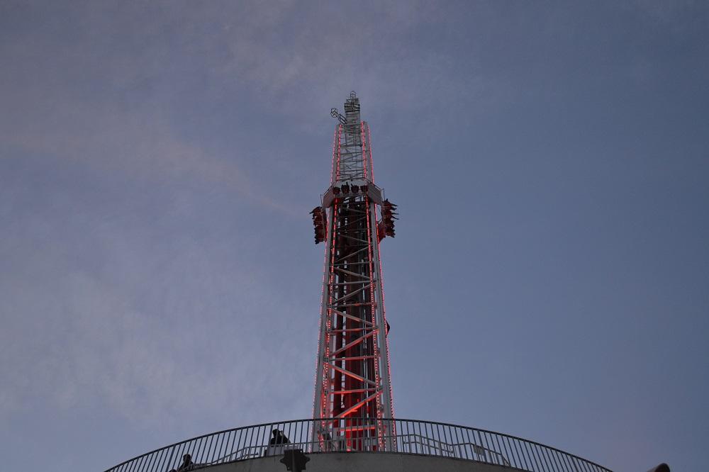 ストラトスフィアタワーのアトラクションの写真