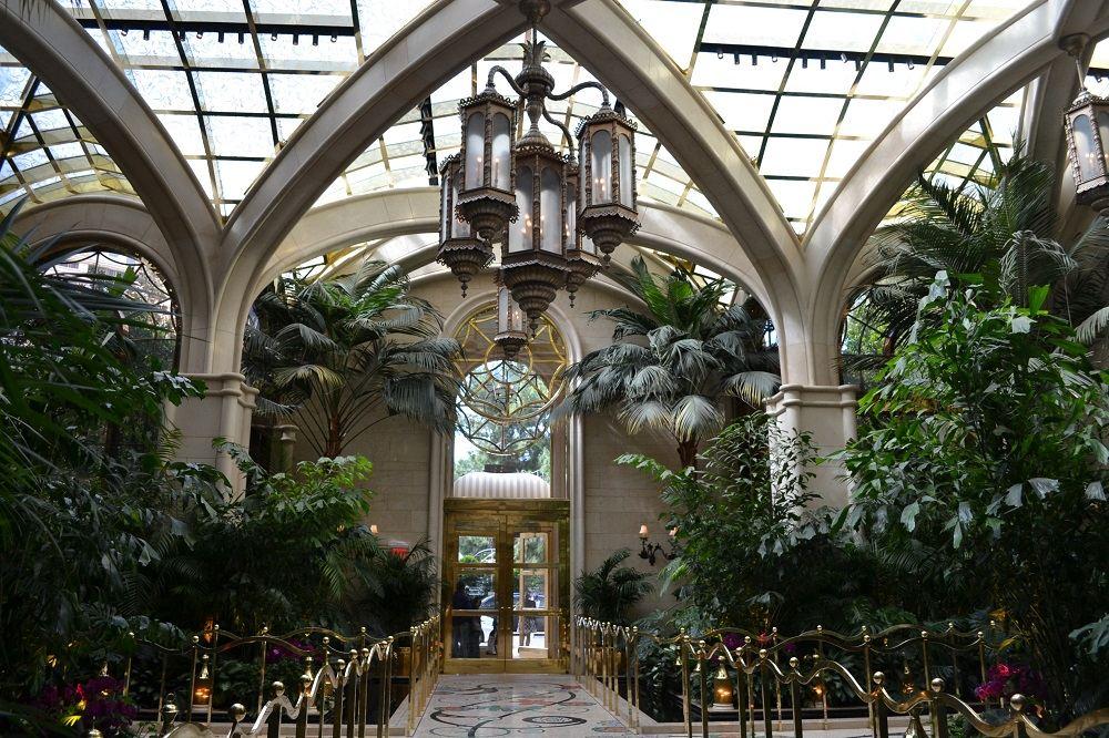 ウィンホテルの温室の写真