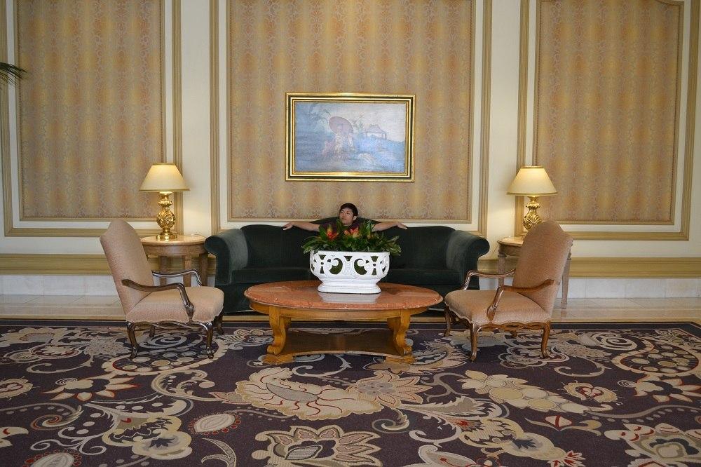 ベラージオのソファの写真