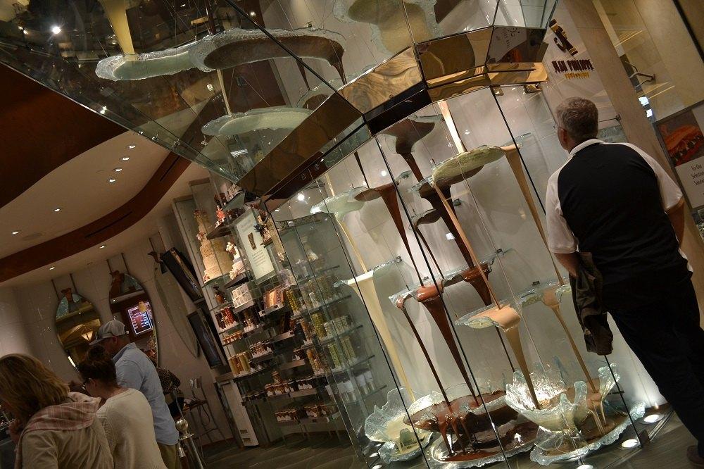 ベラージオのチョコレートオブジェクトの写真