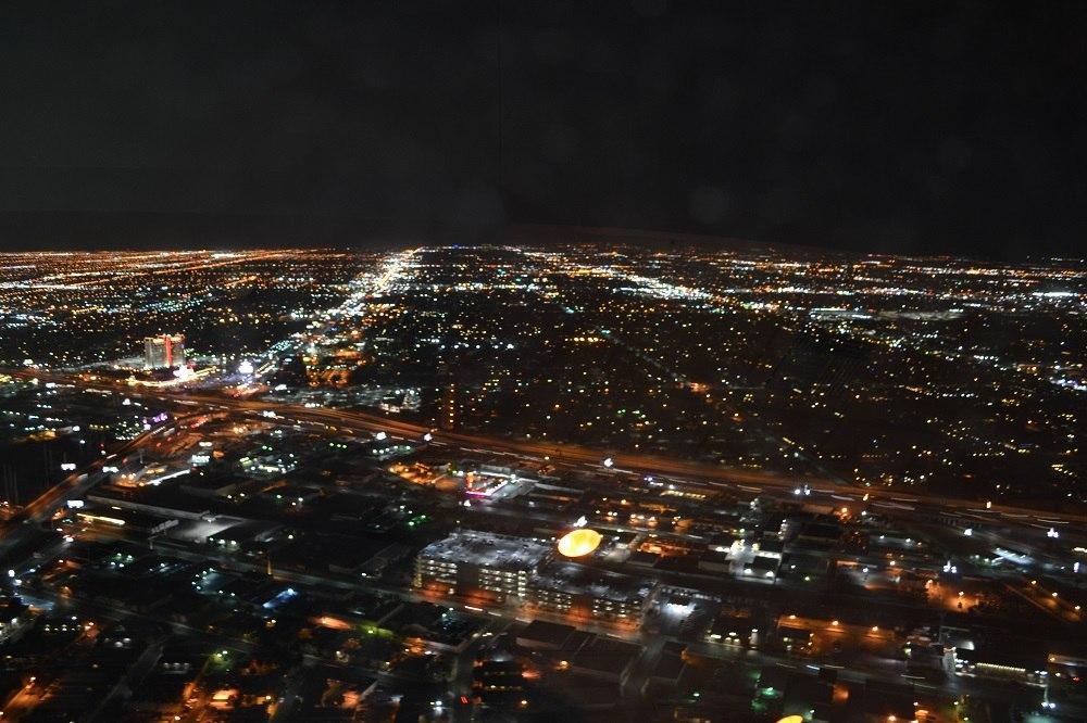 ストラトスフィアタワーからの夜景の写真