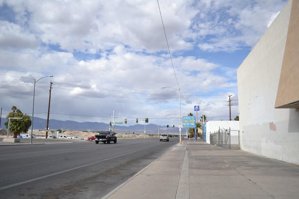 ラスベガス町はずれの写真