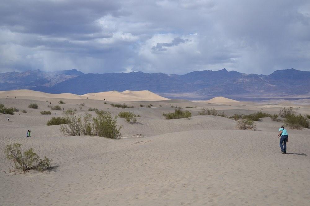 Mesquite Flat Sand Dunesの写真