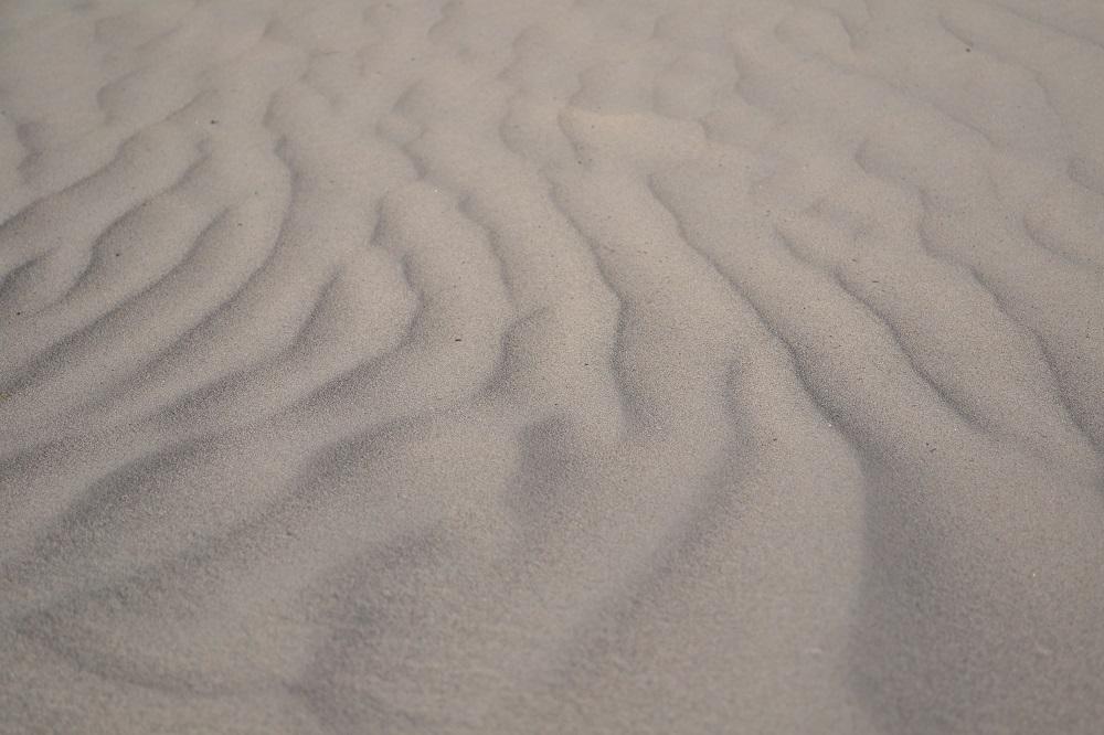 Mesquite Flat Sand Dunesの砂の写真
