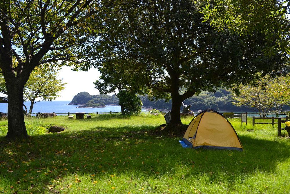 御鉾ケ浦公園キャンプ場の写真