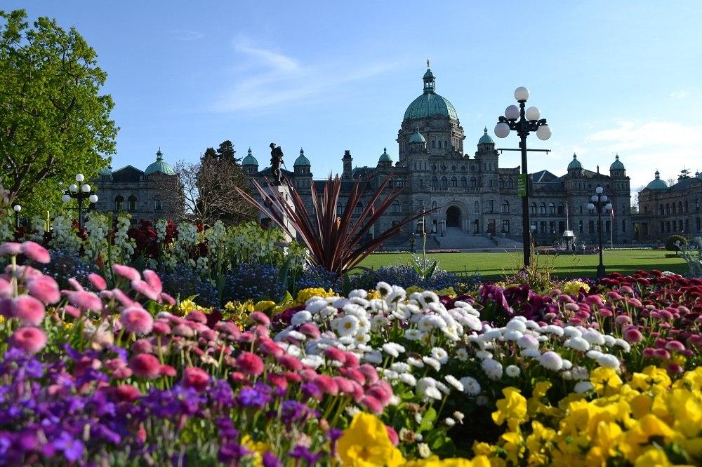 ヴィクトリアの州議事堂の写真