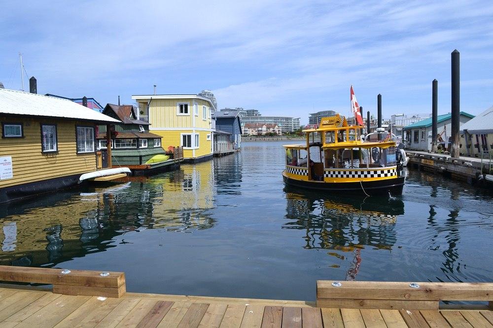 フィッシャーマンズワーフの水上タクシーの写真