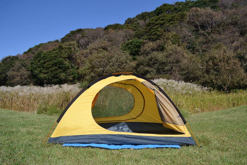 GeerTop2人用テント(2つの出入り口(メッシュ網戸))の写真
