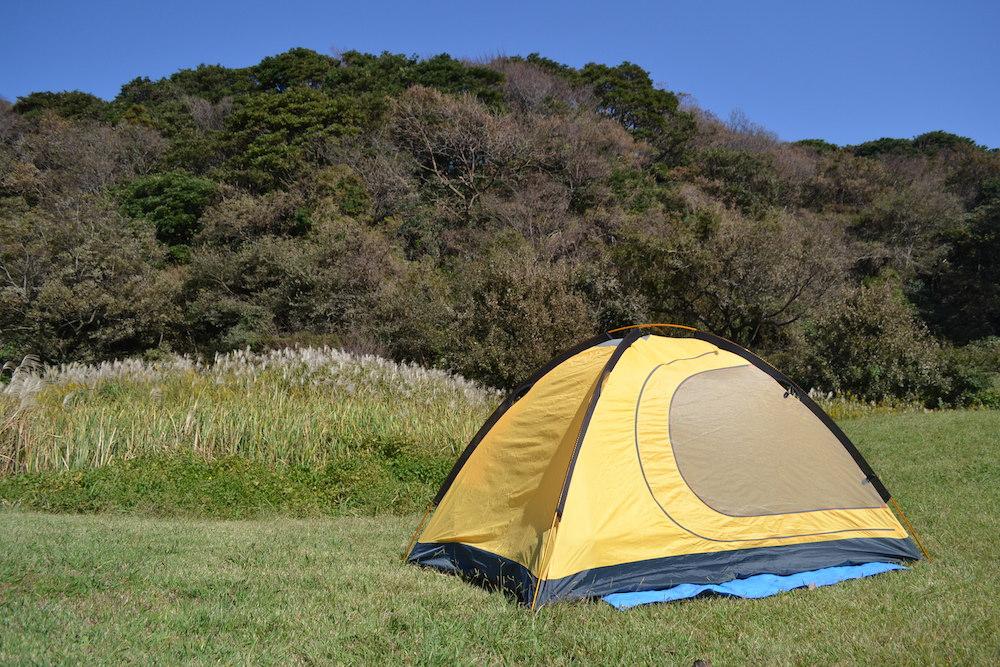 GeerTop2人用テントの全体(フライシートなし)の写真