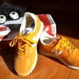 NewBalance U220(カラシ色)の靴の写真