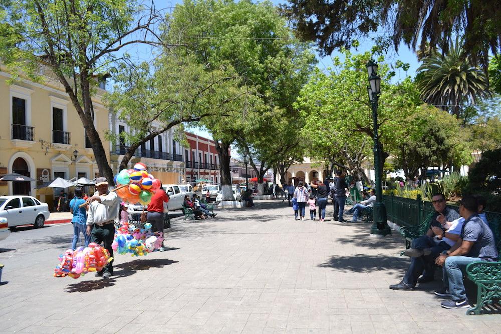 メキシコ|サンクリストバル・デ・ラス・カサスのソカロの写真