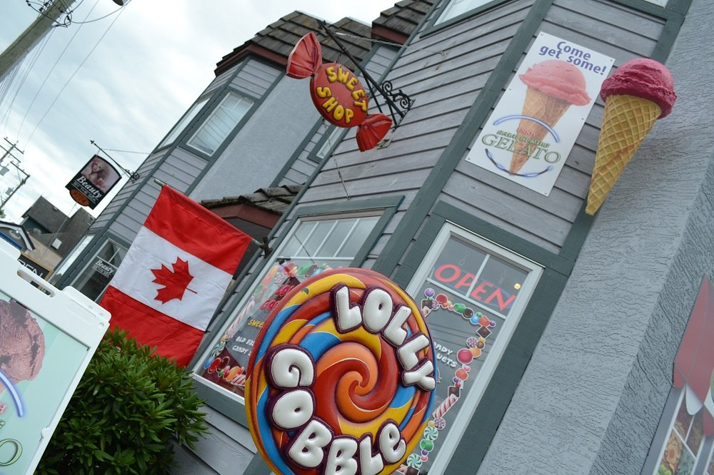 シドニーのお菓子屋さんの写真