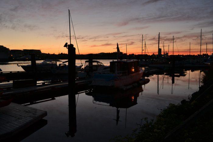 Canoe Brewpubからの景色の写真