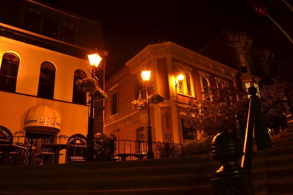 バスチョンスクエア夜景の写真
