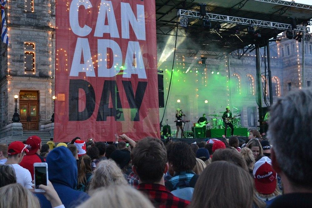 カナダのロックバンドの写真