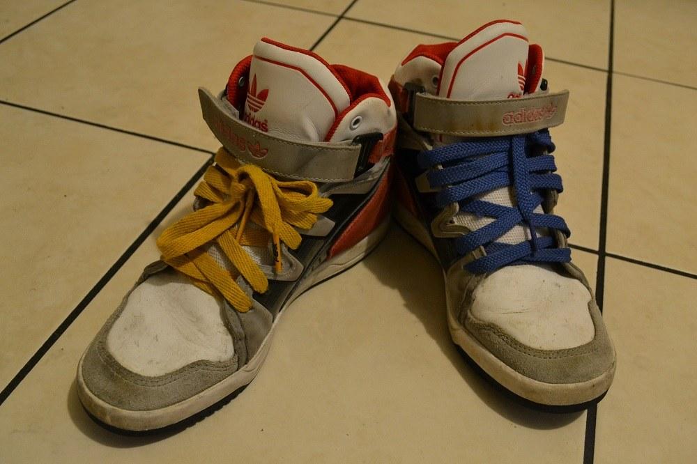 もらった靴1の写真