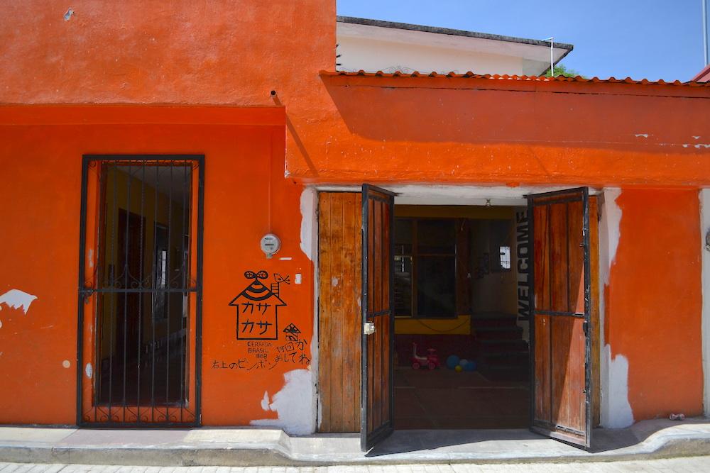 メキシコ・サンクリストバル|カサカサ(玄関)の写真