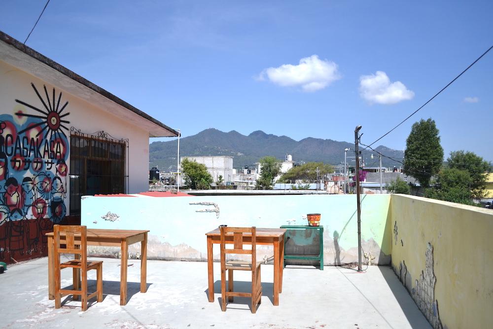 メキシコ・サンクリストバル|カサカサ(バルコニー)の写真