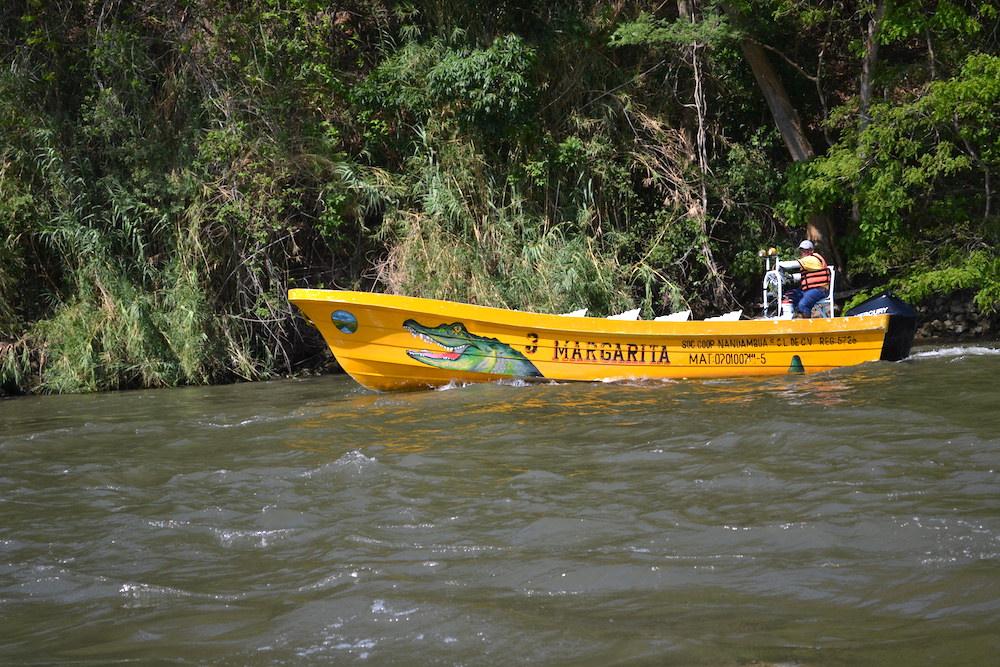 メキシコ・スミデロ渓谷ボートツアーMARGARITA3号の写真