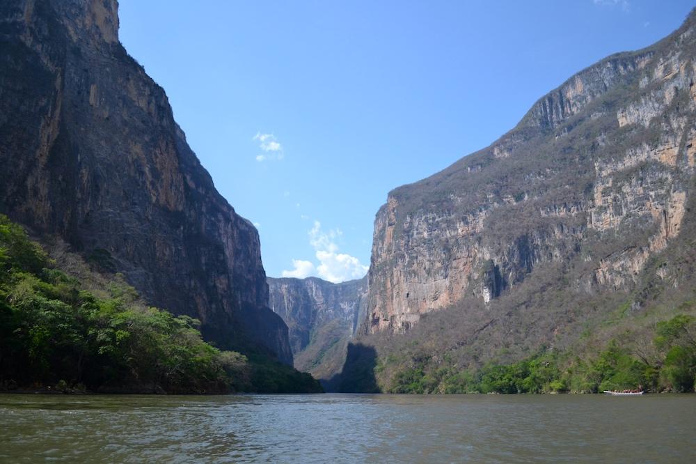 メキシコ・チアパス州のシンボル*スミデロ渓谷の写真