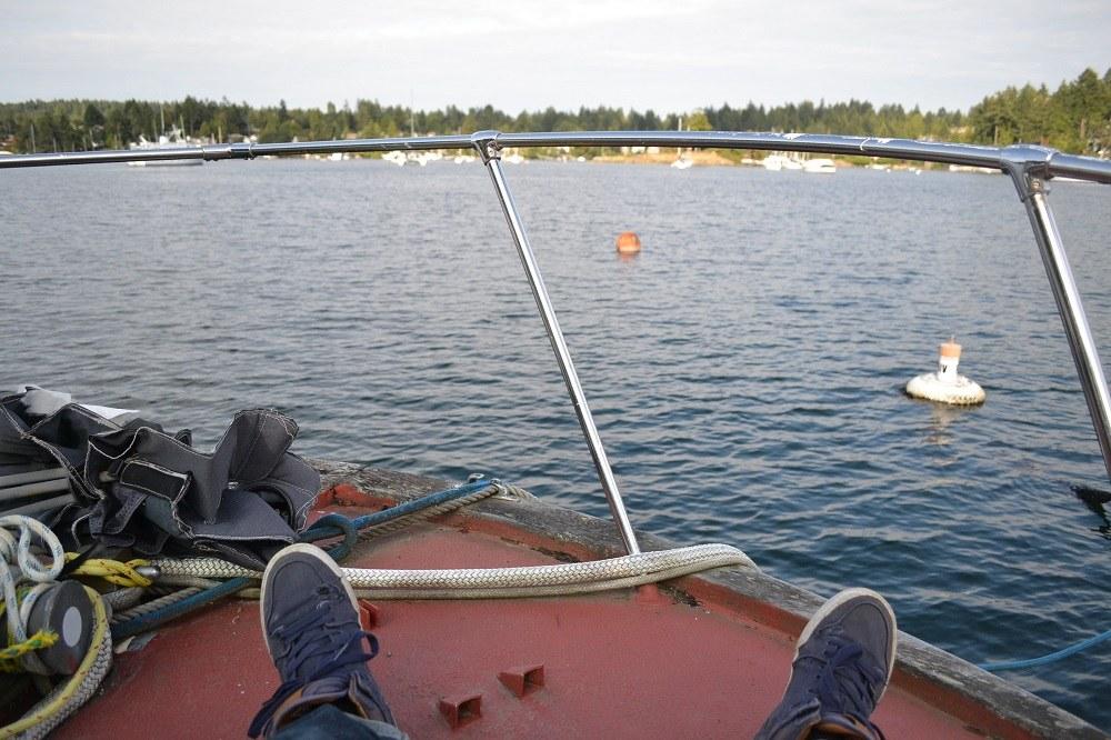 カナダの海に浮かぶ船に、無料で住んでも良いと言われた話*