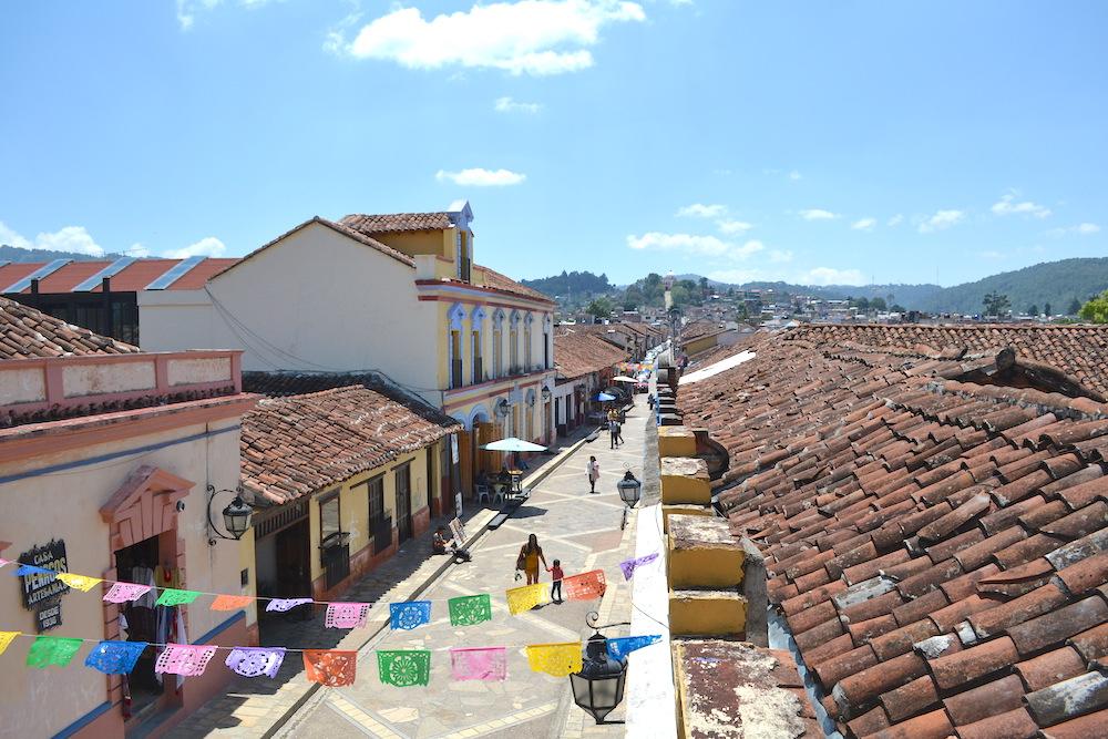 メキシコ・サンクリストバル観光通り(グアダルーペまで)の写真