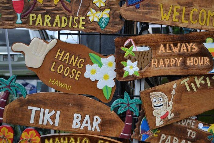 マウイ島のお土産雑貨の写真