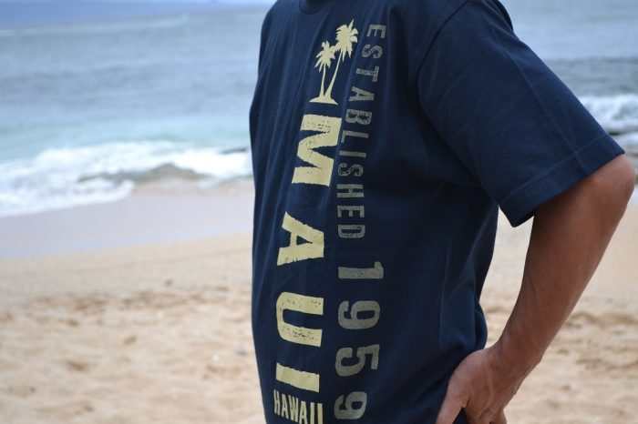 マウイ島Tシャツの写真