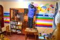 絵描き作家*河野ルルちゃんが店内に壁画を描いてくださいました♪