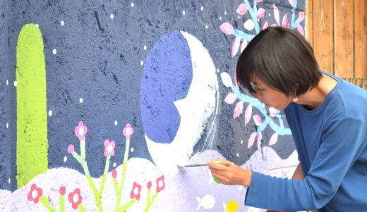 メキシコの孤児院|絵描きアーティスト*河野ルルちゃんのステキな壁画制作(^^)