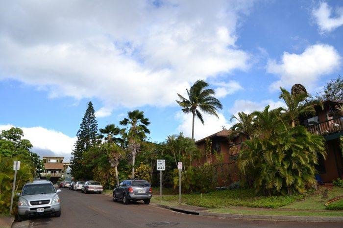 マウイ島の民家2の写真